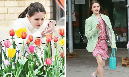 Suri Cruise,Tom Cruise,Katie Holmes,sao Hollywood
