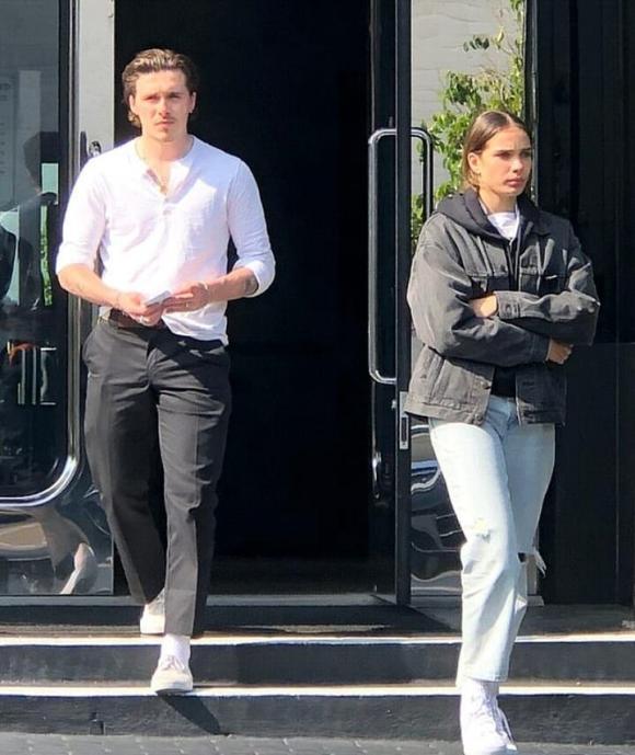 Brooklyn Beckham và bạn gái,Con trai cả nhà Beckham, sao hollywood