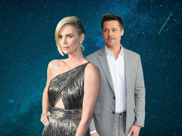 Charlize Theron, brad pitt, sao hollywood