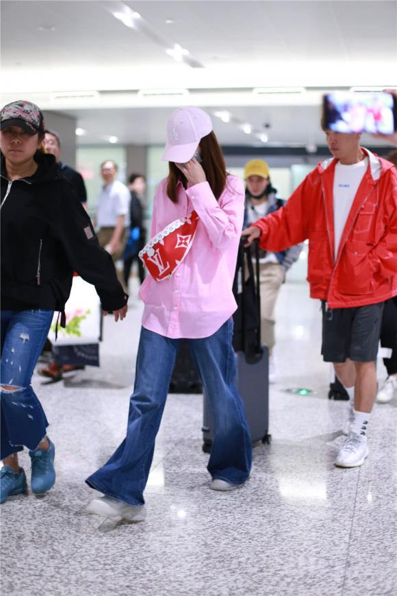 lâm tâm như, thời trang sân bay, sao hoa ngữ