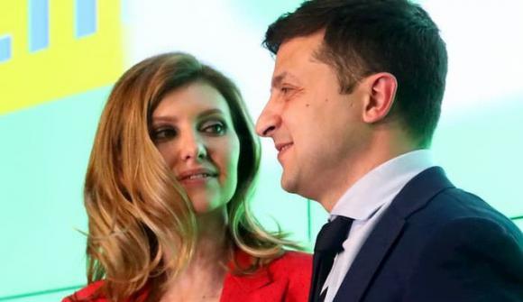 Volodymyr Zelensky, bầu cử Tổng thống Ukraine, danh hài Vladimir Zelensk