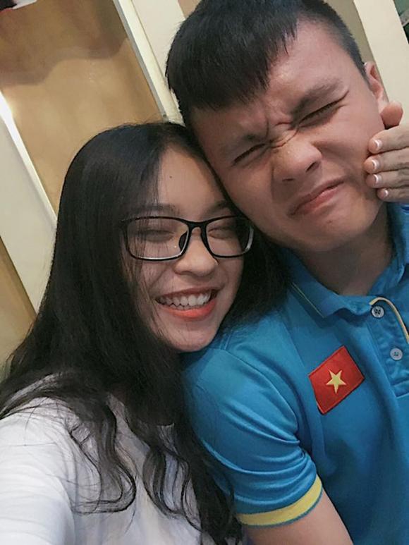Quang Hải, Nhật Lê, bạn gái Quang Hải