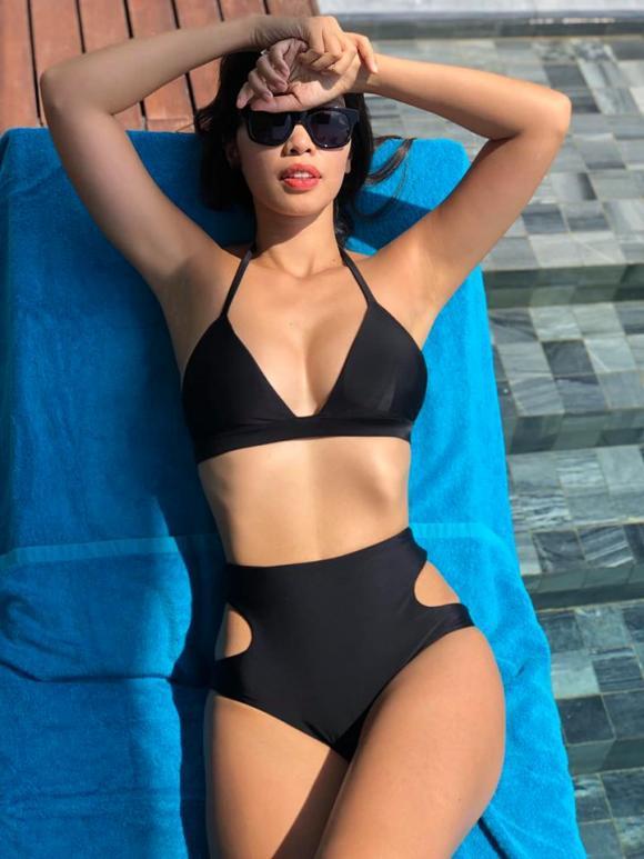 Hà Anh, siêu mẫu Hà Anh, sao Việt, để quyến rũ