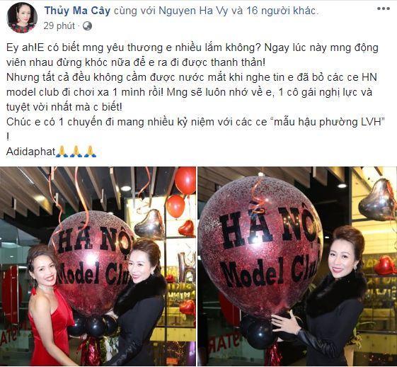 cựu người mẫu Như Hương qua đời, siêu mẫu Hạ Vy, Hồ Ngọc Hà, sao Việt