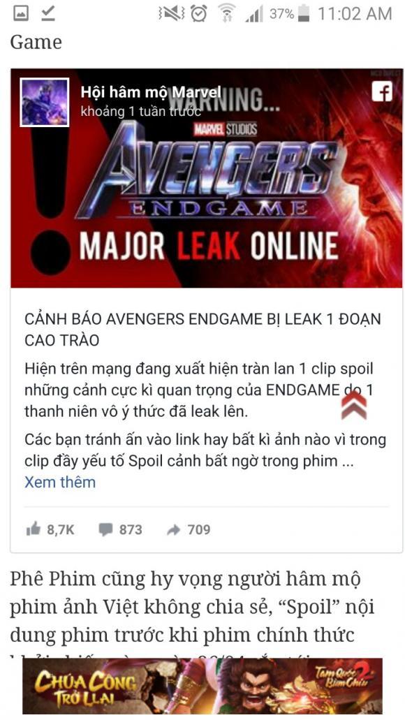 Avengers, phim hot
