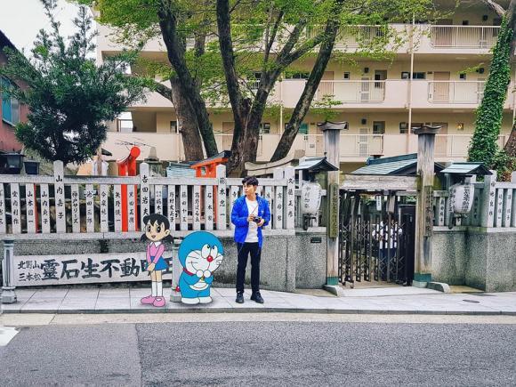 Jun Phạm, du lịch Nhật Bản, truyện tranh Nhật Bản