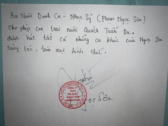Quách Tuấn Du, Ngọc Sơn , sao Việt