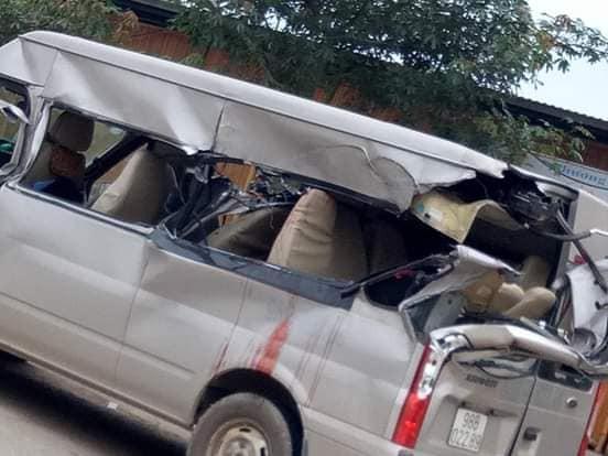 tai nạn giao thông, Bắc Giang, xe khách 16 chỗ