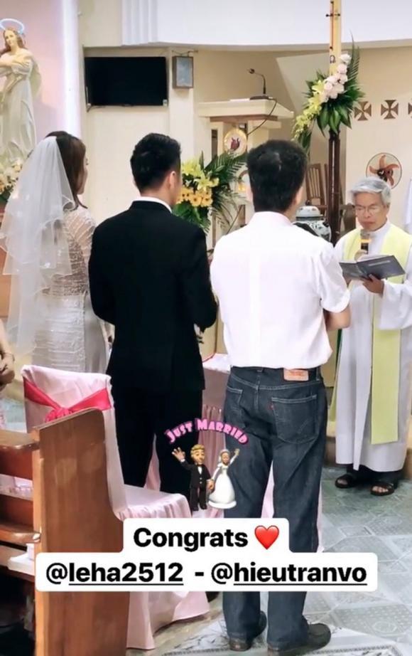 đám cưới Lê Hà,sao Việt,Lê Hà