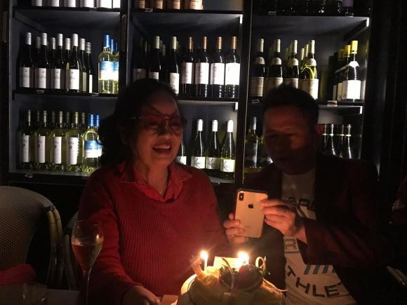 Bằng Kiều, mẹ Bằng Kiều, sinh nhật mẹ Bằng Kiều