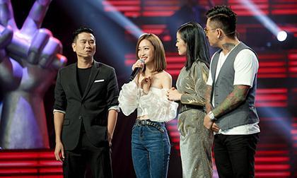 nữ ca sĩ thanh hà, MC Phí Linh, giọng hát Việt 2019, bảo yến, đọc sai tên