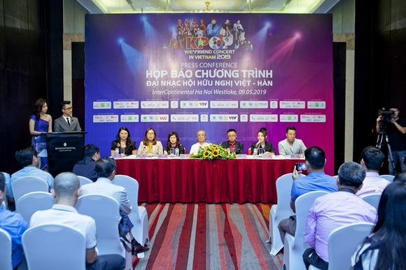 Đại nhạc hội hữu nghị Việt Hàn, We * friend concert in Vietnam 2019