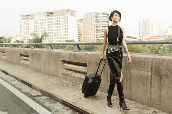 Siêu mẫu vũ cẩm nhung,street style vũ cẩm nhung,vũ cẩm nhung cực chất