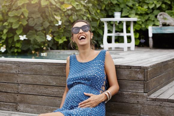 chăm sóc sức khỏe thai nhi, phụ nữ mang thai bị ốm nghén, ốm nghén tốt cho sức khỏe