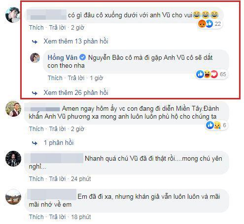 Hồng Vân, Anh Vũ, sao Việt