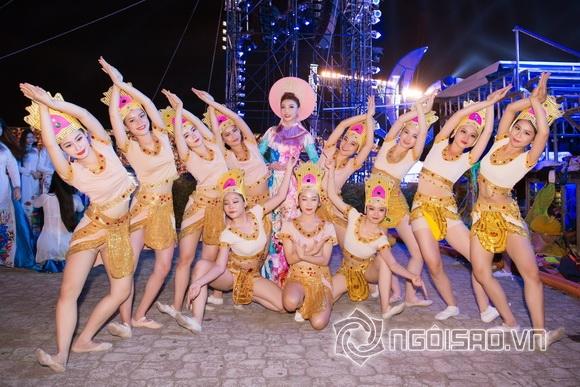 Á hậu Lý San Nghi, Festival biển Nha Trang, NTK Nhật Dũng