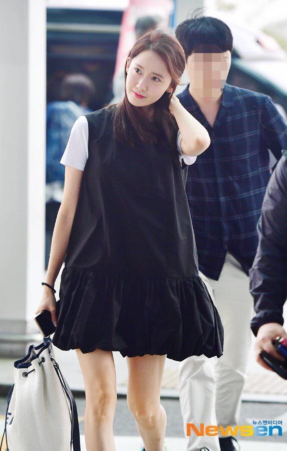 yoona, thời trang sân bay, sao hàn