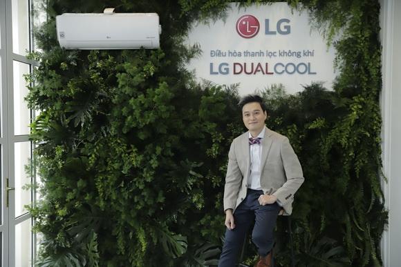 LG, điều hòa LG, LG DualCool, Hoàng Thùy