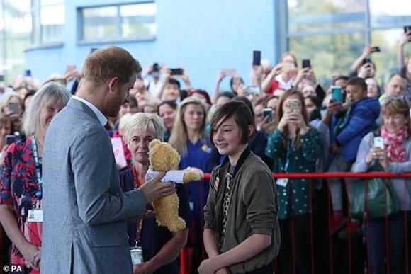 Hoàng tử Harry, Hoàng gia Anh, Meghan