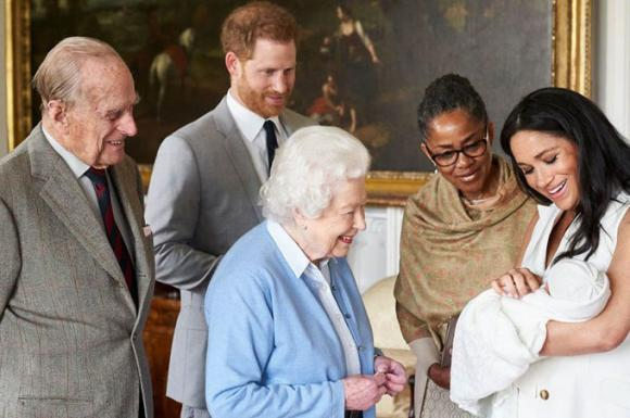 công nương meghan markle, nữ hoàng anh, hoàng gia anh