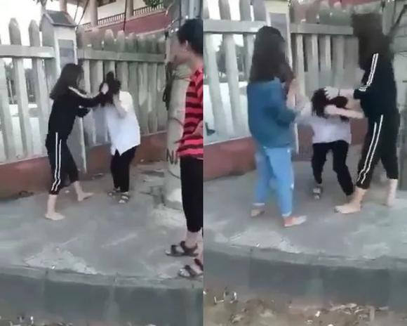 nữ sinh, đánh nhau, bạo lực học đường, Quảng Bình
