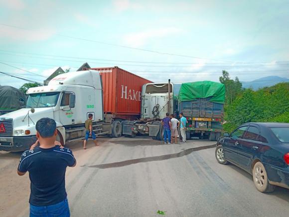 tai nạn giao thông, xe đầu kéo, Bắc Giang