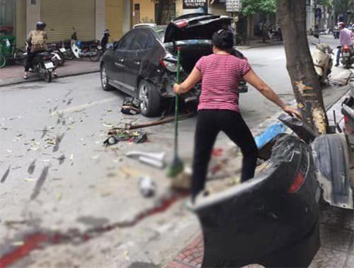 tai nạn giao thông, Hà Nội, xe điện