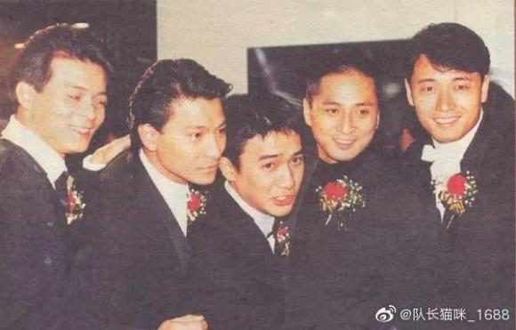 sao TVB,Lương Triều Vỹ, Huỳnh Nhật Hoa, Lưu Đức Hoa, ngũ hổ tướng