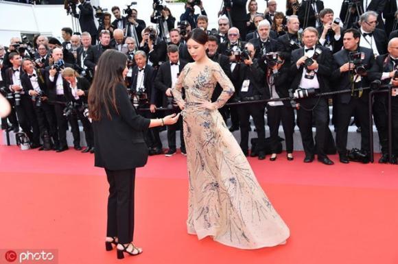 LHP Cannes,sao Hoa ngữ,Thi Dư Phi