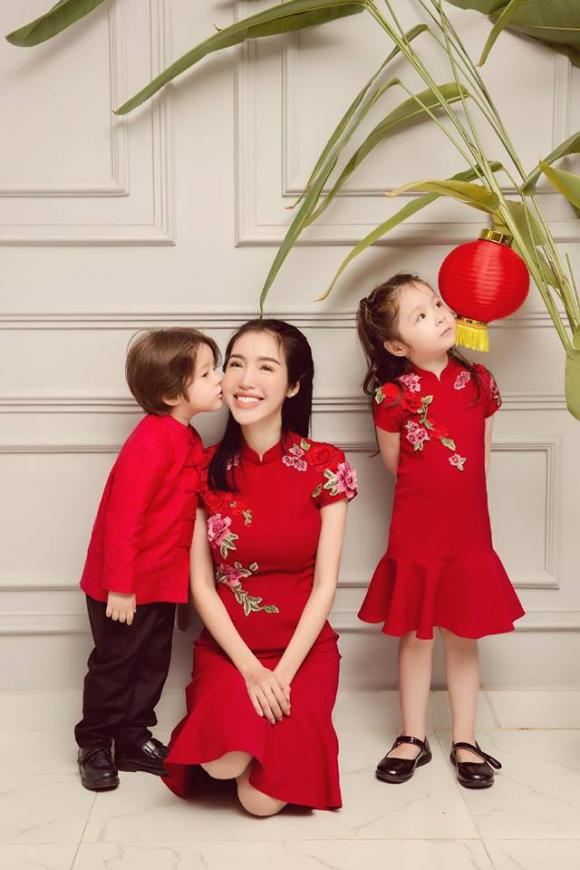Elly Trần Elly Trần dạy con, hai con Elly Trần, cách dạy con, nguyên tắc dạy con