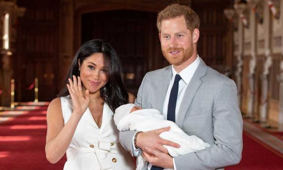 Kate Middleton,cháu trai Kate,Archie,con trai Harry và Meghan,em bé Sussex,vợ chồng Meghan,Hoàng gia Anh