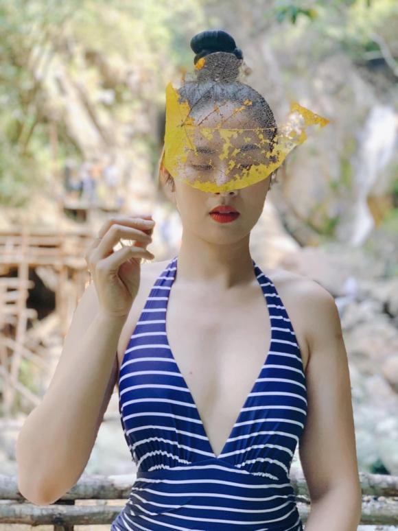 Hoa hậu Ngọc Hân,Ngọc Hân diện áo tắm,sao Việt