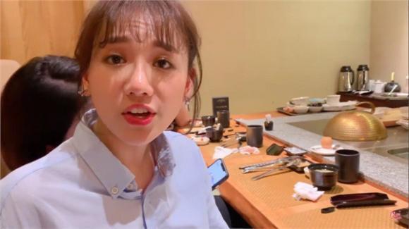 danh hài Trấn Thành, nữ ca sĩ hari won, nghệ sĩ hài Lê Giang