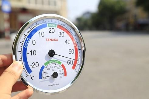 Hà Nội nắng nóng, Nhiệt độ Hà Nội, nắng nóng gay gắt ở miền bắc