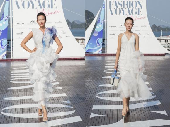 Aquafina, Aquafina X fashion Voyage, NTK Hoàng Minh Hà, BST Pure