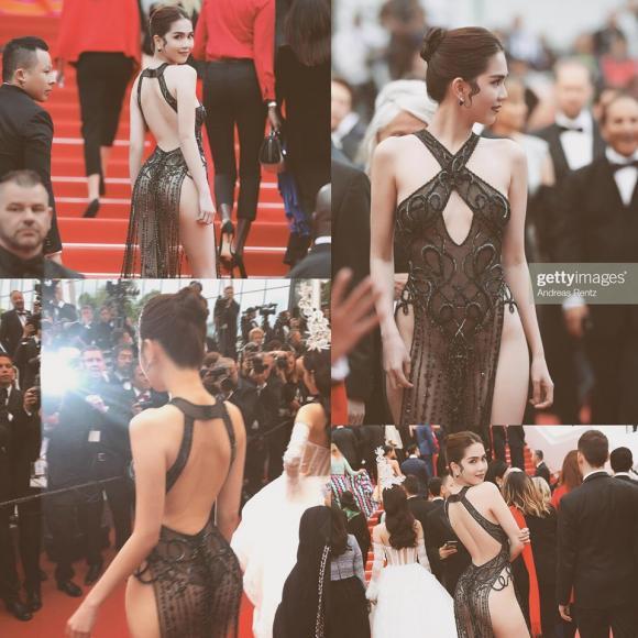 Ngọc Trinh, Ngọc Trinh LHP Cannes, sao Việt