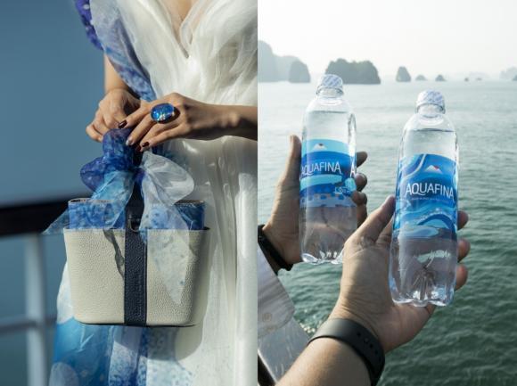 Aquafina, Aquafina x Fashion Voyage, Hoàng Thùy, BST Pure - Thuần khiết