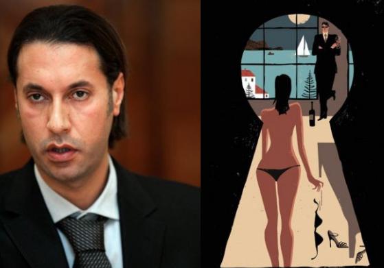 LHP Cannes, Gái bán dâm hạng sang, Tú ông Nahas