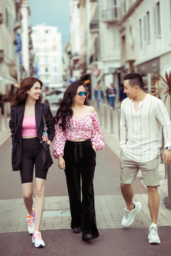 Ngọc Trinh, vũ khắc tiệp, thảm đỏ LHP Cannes, sao Việt tại LHP Cannes