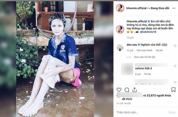 Hoa hậu H'Hen Niê, rapper Đen Vâu, sao việt