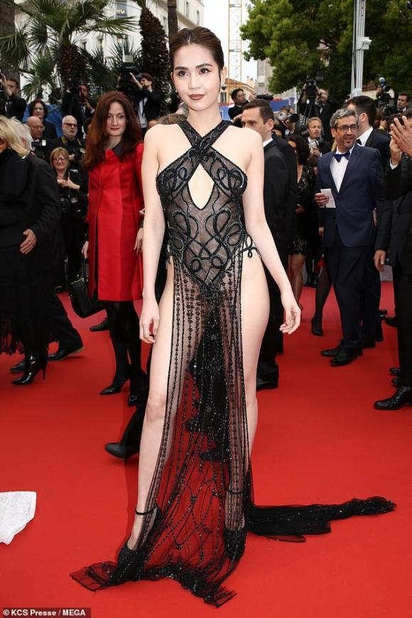 Ngọc Trinh,sao đi thảm đỏ LHP Cannes,2019,Nữ hoàng nội y,LHP Cannes