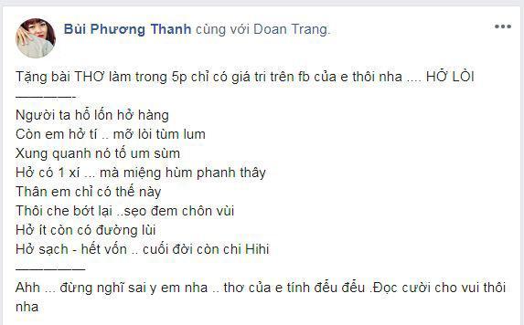 Đoan Trang, Phương Thanh, sao Việt