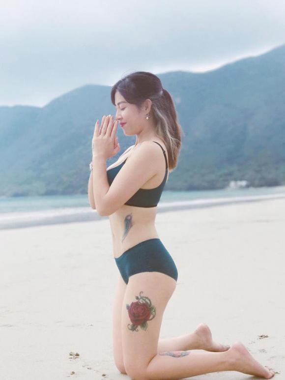 Hoàng Linh,MC Hoàng Linh,Hoàng Linh khoe vòng một,sao Việt