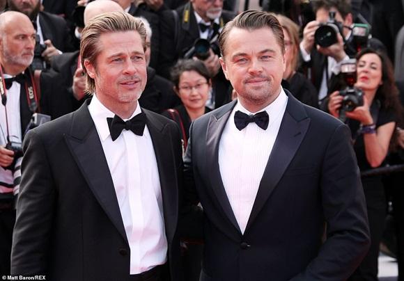 Brad Pitt, Leonardo DiCaprio,Chương Tử Di, LHP Cannes, thảm đỏ Cannes 2019