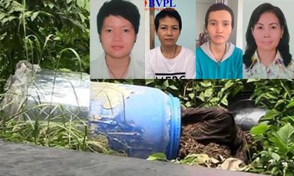 2 thi thể trong thùng bê tông, giết người phi tang xác bằng bê tông, tin pháp luật
