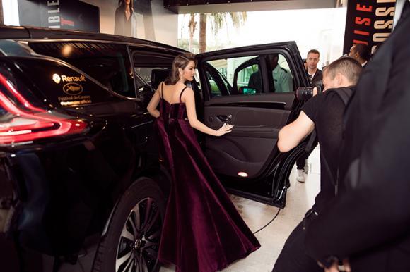 Kiều nữ lý nhã kỳ, Cannes,thảm đỏ LHP Cannes, sao Việt, ngoc trinh
