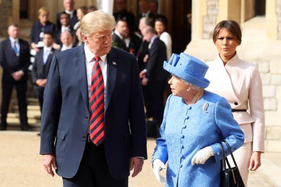 Hoàng gia Anh,Tổng thống Trump,Công nương Kate,Ivanka Trump