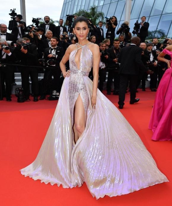Ngọc Trinh,Ngọc Trinh lọt top 15 mặc đẹp nhất Cannes,LHP Cannes 2019