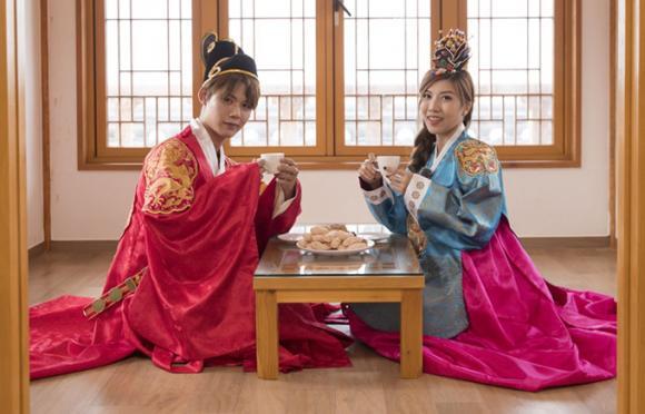 Trang Pháp, Trang Pháp và Dương Khắc Linh, Trang Pháp du lịch Hàn Quốc