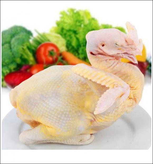 món gà, gà hấp, món ngon cuối tuần